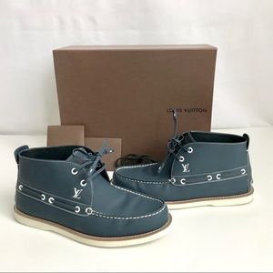 Louis Vuitton Lace Up High Top Ankle Boot 7M(8US)